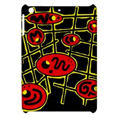 Red And Yellow Hot Design Apple Ipad Mini Hardshell Case by Valentinaart