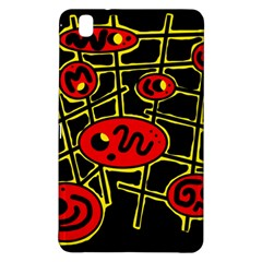 Red And Yellow Hot Design Samsung Galaxy Tab Pro 8 4 Hardshell Case by Valentinaart