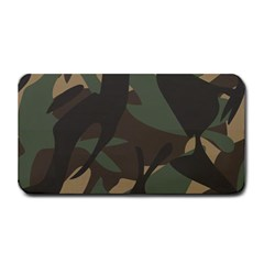 Woodland Camo Pattern Medium Bar Mats by artpics