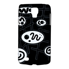 Black And White Crazy Abstraction  Galaxy S4 Active by Valentinaart