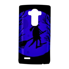 Halloween Witch   Blue Moon Lg G4 Hardshell Case by Valentinaart