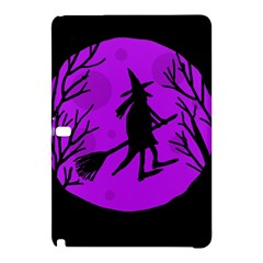 Halloween Witch   Purple Moon Samsung Galaxy Tab Pro 12 2 Hardshell Case by Valentinaart