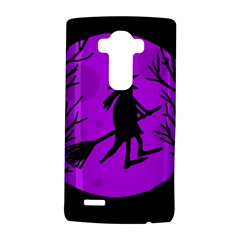 Halloween witch - Purple moon LG G4 Hardshell Case