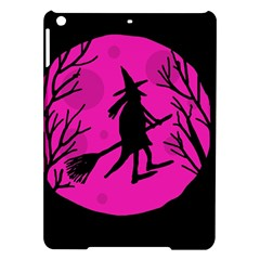 Halloween Witch   Pink Moon Ipad Air Hardshell Cases by Valentinaart