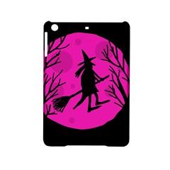 Halloween Witch   Pink Moon Ipad Mini 2 Hardshell Cases by Valentinaart