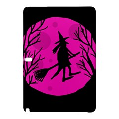 Halloween Witch   Pink Moon Samsung Galaxy Tab Pro 12 2 Hardshell Case by Valentinaart