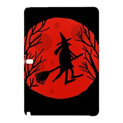 Halloween witch - red moon Samsung Galaxy Tab Pro 10.1 Hardshell Case by Valentinaart