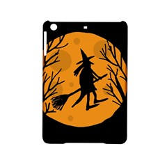 Halloween Witch   Orange Moon Ipad Mini 2 Hardshell Cases by Valentinaart