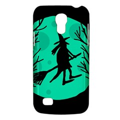 Halloween Witch   Cyan Moon Galaxy S4 Mini by Valentinaart
