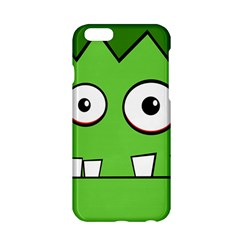 Halloween Frankenstein   Green Apple Iphone 6/6s Hardshell Case by Valentinaart