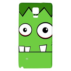 Halloween Frankenstein   Green Galaxy Note 4 Back Case by Valentinaart