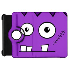 Halloween Frankenstein   Purple Kindle Fire Hd Flip 360 Case by Valentinaart