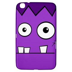Halloween Frankenstein   Purple Samsung Galaxy Tab 3 (8 ) T3100 Hardshell Case  by Valentinaart