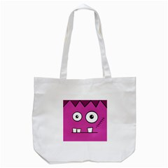 Halloween Frankenstein   Pink Tote Bag (white) by Valentinaart