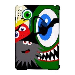 Halloween Monsters Apple Ipad Mini Hardshell Case (compatible With Smart Cover) by Valentinaart