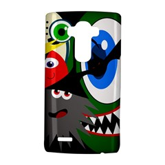 Halloween Monsters Lg G4 Hardshell Case by Valentinaart