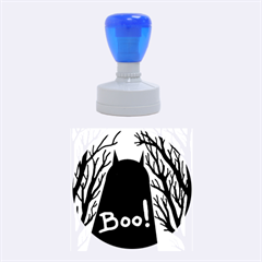 Halloween Monster Rubber Round Stamps (medium) by Valentinaart