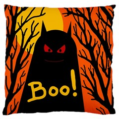 Halloween Monster Large Cushion Case (one Side) by Valentinaart