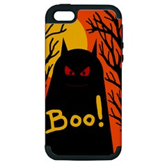 Halloween Monster Apple Iphone 5 Hardshell Case (pc+silicone) by Valentinaart