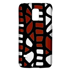 Red Decor Galaxy S5 Mini by Valentinaart