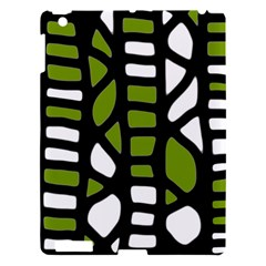 Green Decor Apple Ipad 3/4 Hardshell Case by Valentinaart