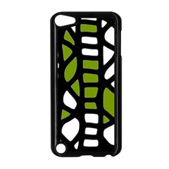 Green Decor Apple Ipod Touch 5 Case (black) by Valentinaart