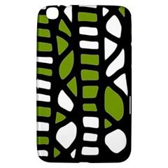 Green Decor Samsung Galaxy Tab 3 (8 ) T3100 Hardshell Case  by Valentinaart