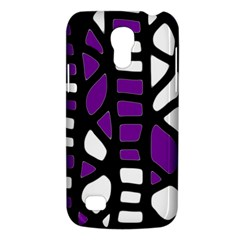 Purple Decor Galaxy S4 Mini by Valentinaart