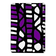 Purple Decor Kindle Fire Hdx 8 9  Hardshell Case by Valentinaart