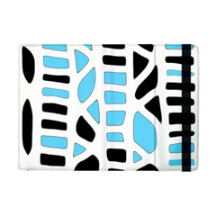 Light Blue Decor Apple Ipad Mini Flip Case by Valentinaart