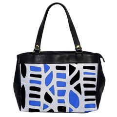 Blue Decor Office Handbags by Valentinaart