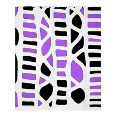 Purple Abstract Decor Shower Curtain 60  X 72  (medium)  by Valentinaart