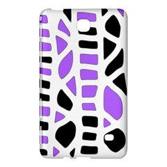 Purple Abstract Decor Samsung Galaxy Tab 4 (7 ) Hardshell Case  by Valentinaart