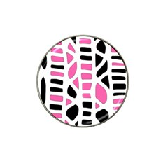 Pink Decor Hat Clip Ball Marker (10 Pack) by Valentinaart