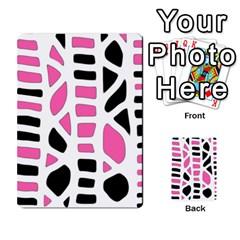 Pink Decor Multi Purpose Cards (rectangle)