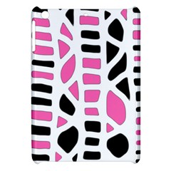 Pink Decor Apple Ipad Mini Hardshell Case by Valentinaart