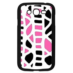 Pink Decor Samsung Galaxy Grand Duos I9082 Case (black) by Valentinaart