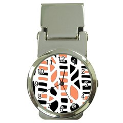 Orange Decor Money Clip Watches by Valentinaart