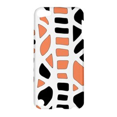 Orange Decor Apple Ipod Touch 5 Hardshell Case by Valentinaart