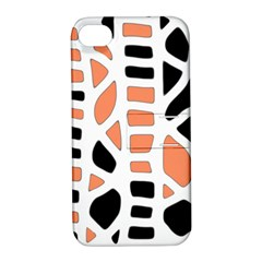 Orange Decor Apple Iphone 4/4s Hardshell Case With Stand by Valentinaart