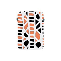 Orange Decor Apple Ipad Mini Protective Soft Cases by Valentinaart