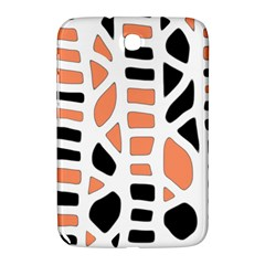Orange Decor Samsung Galaxy Note 8 0 N5100 Hardshell Case  by Valentinaart