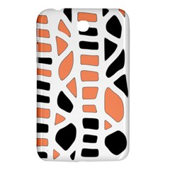 Orange Decor Samsung Galaxy Tab 3 (7 ) P3200 Hardshell Case  by Valentinaart