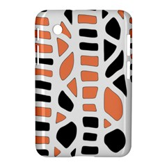 Orange Decor Samsung Galaxy Tab 2 (7 ) P3100 Hardshell Case  by Valentinaart