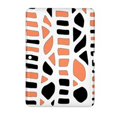 Orange Decor Samsung Galaxy Tab 2 (10 1 ) P5100 Hardshell Case  by Valentinaart