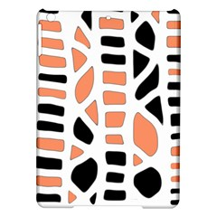 Orange Decor Ipad Air Hardshell Cases by Valentinaart