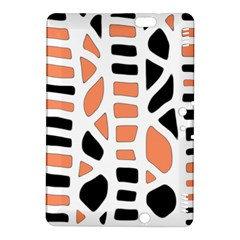 Orange Decor Kindle Fire Hdx 8 9  Hardshell Case by Valentinaart