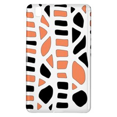 Orange Decor Samsung Galaxy Tab Pro 8 4 Hardshell Case by Valentinaart
