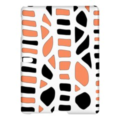 Orange Decor Samsung Galaxy Tab S (10 5 ) Hardshell Case  by Valentinaart