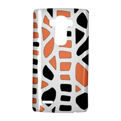 Orange Decor Lg G4 Hardshell Case by Valentinaart